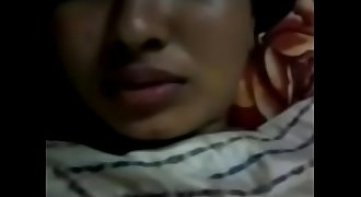 Desi couple fucking on bed
