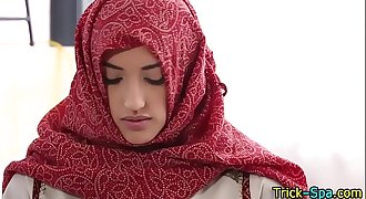 porm muslim girl massage blowjob anl cum eat and facial